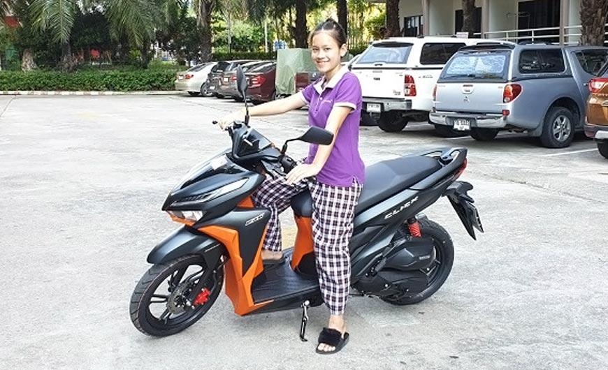 Tik's Pattaya motorcycle  rentals