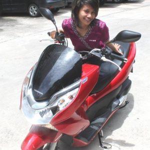 Motorbike Rentals Pcx 150 With Nok